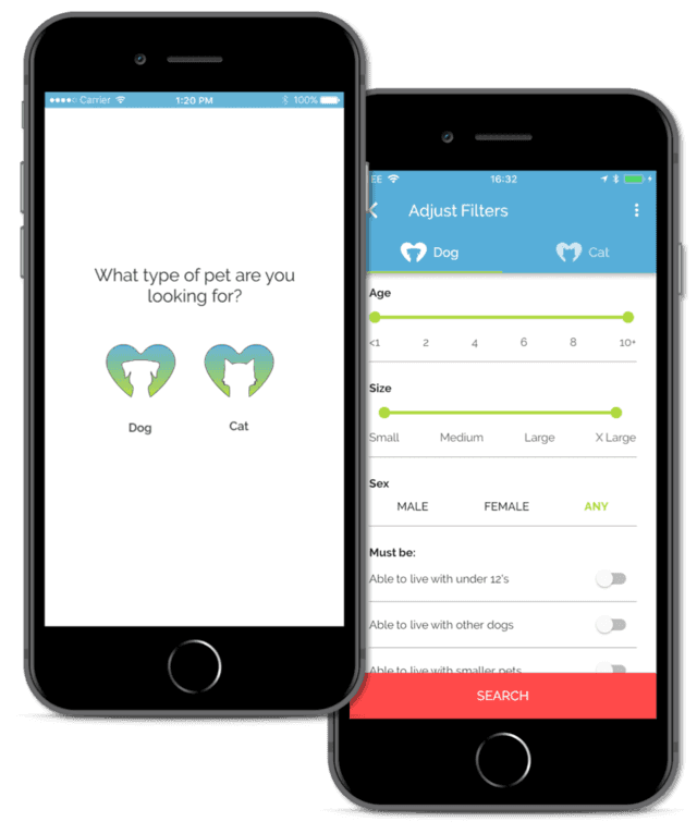Pawfect Match app